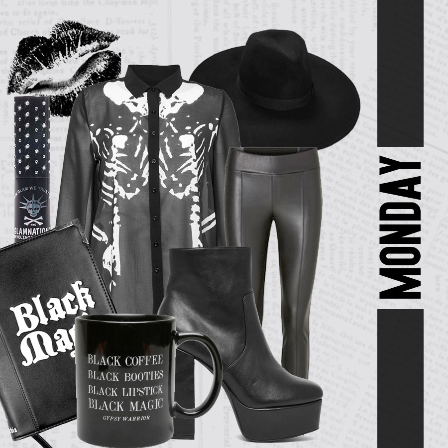 week outfits - monday