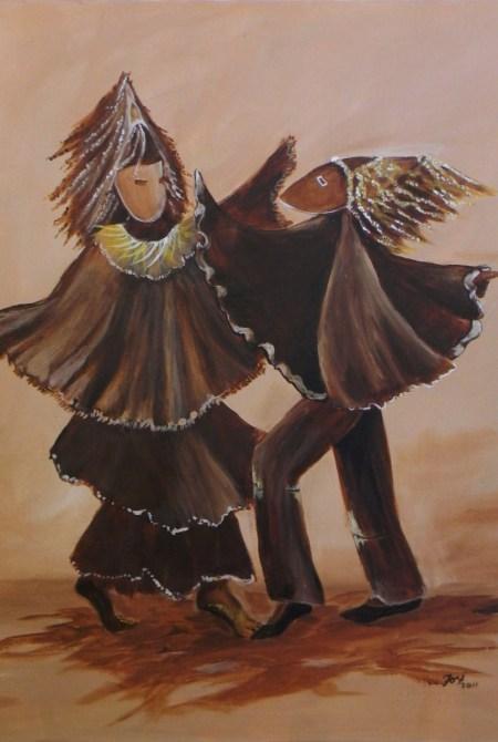 Dancing Jonkanoo