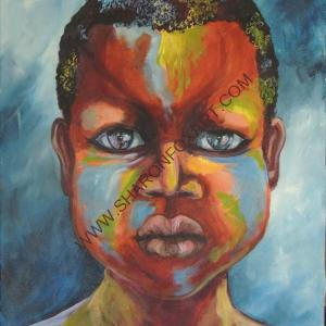 Painted Boy 3