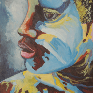 Painted Boy at J'ouvert