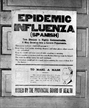 Spanish Flu Poster