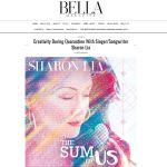 Sharon interview by Bella Magazine
