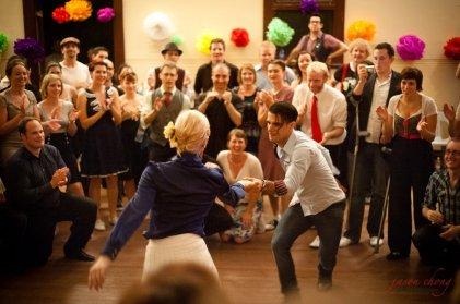 Dancing with Juan Villafane at Hullabaloo 2011, Perth Australia // Photo by Jason Chong