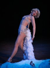 Burlesque performance for the Jump Session Show 2011, Seattle USA // Photo by Eric Bertrand