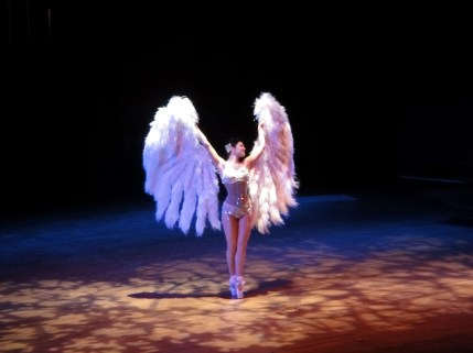 Burlesque performance at Jump Session Show 2010, Seattle USA // Photo by Eric Bertrand