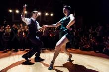 Dancing with Juan Villafane at Swingin' Festival Paris 2012