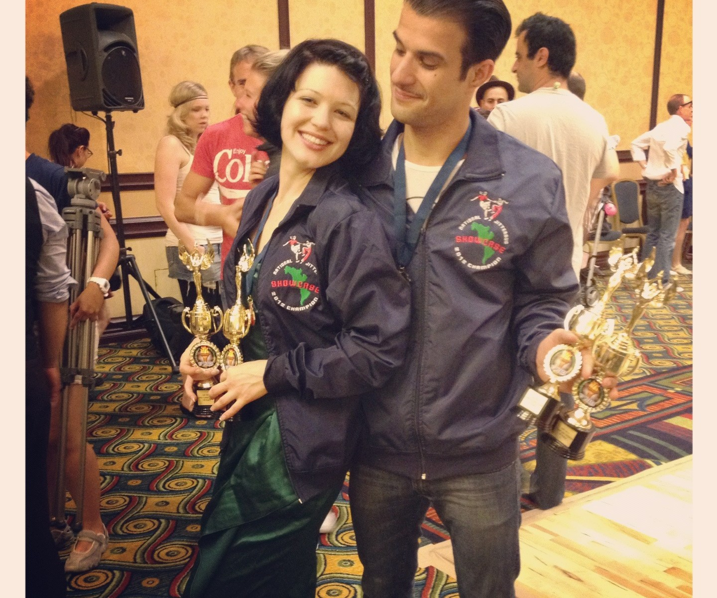 Sharon & Juan win National Jitterbug Championships