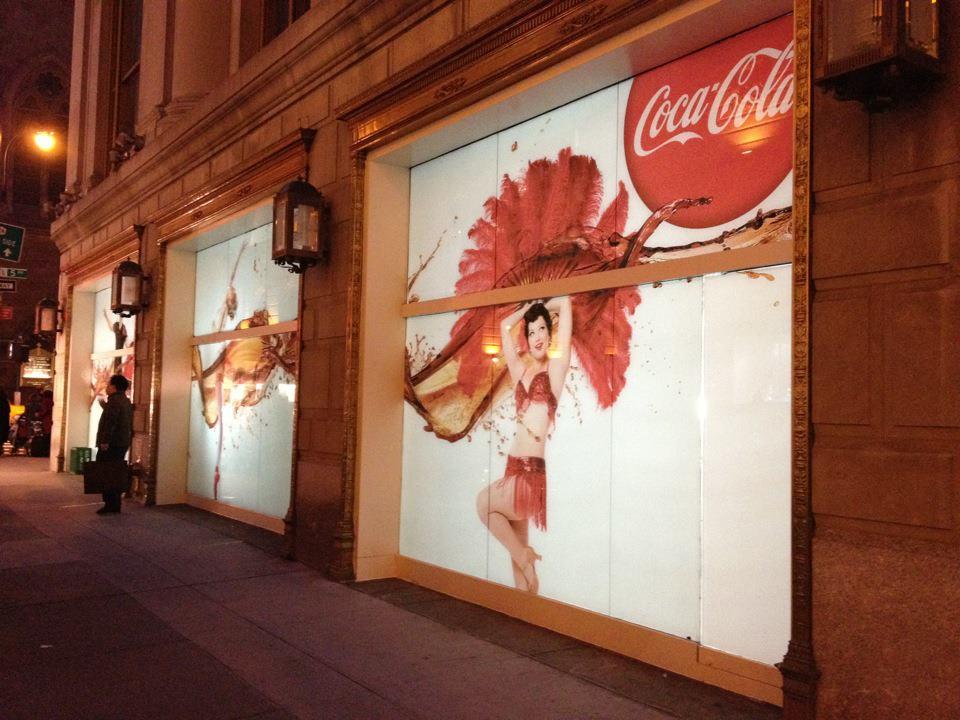 Sharon Davis for Coca Cola