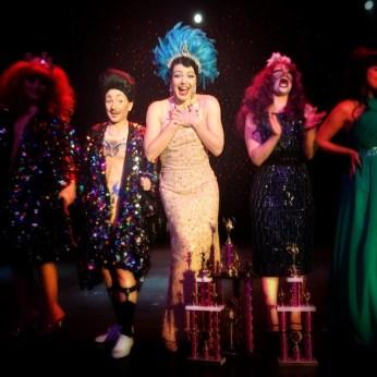 Bonnie Fox in Las Vegas June 2014 for Burlesque Hall of Fame (BHoF)