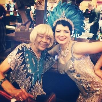 Bonnie Fox & Toni Elling in Las Vegas June 2014 for Burlesque Hall of Fame (BHoF)