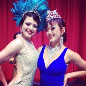 Bonnie Fox & Midnite Martini in Las Vegas June 2014 for Burlesque Hall of Fame (BHoF)