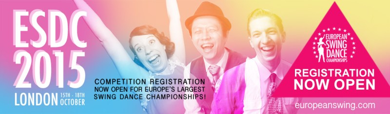 European Swing Dance Championships 2015 on sale now!