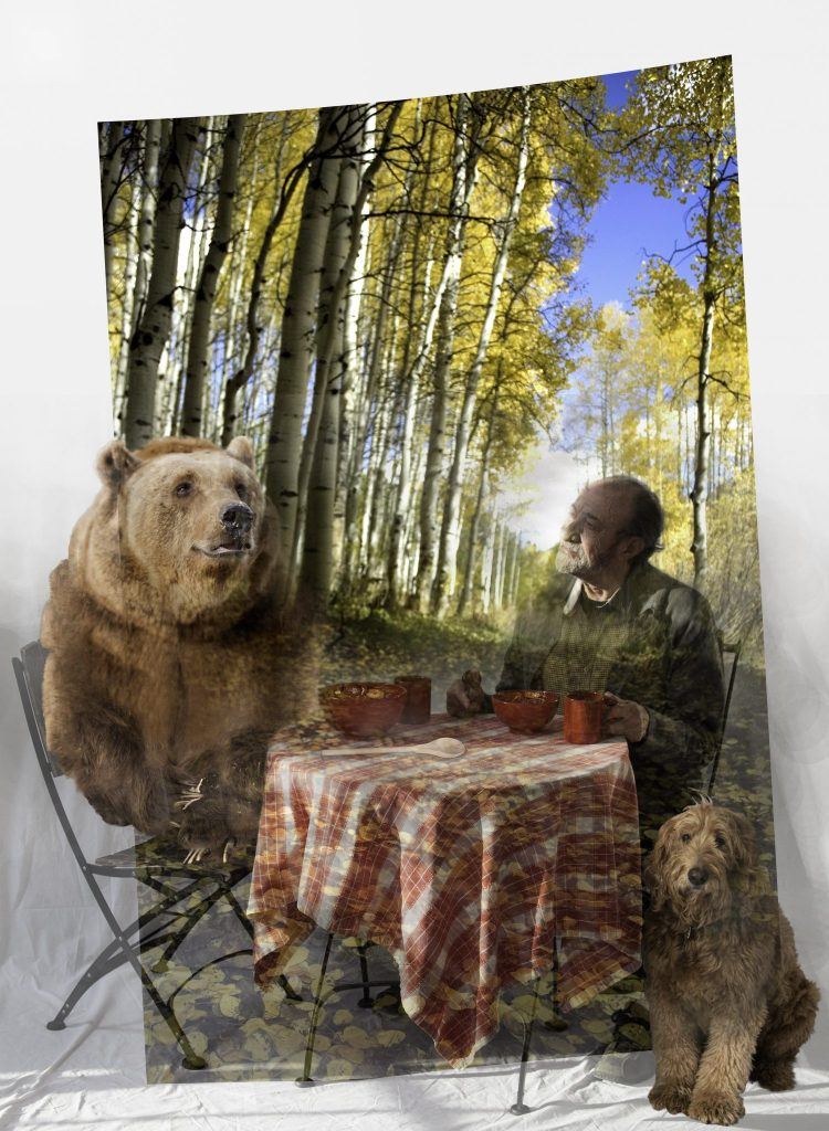 Eating Gumbo with the Bear