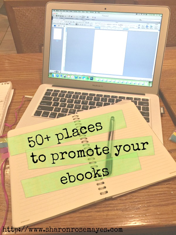 50 places to promote your ebook