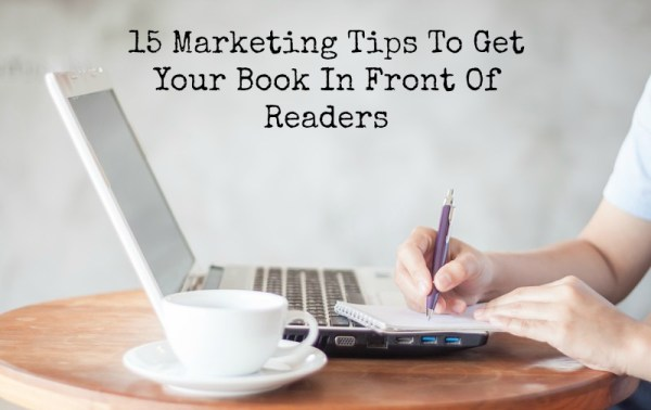 15 book marketing tips