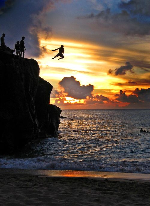 Cliff-Jumping-Risk-Taking