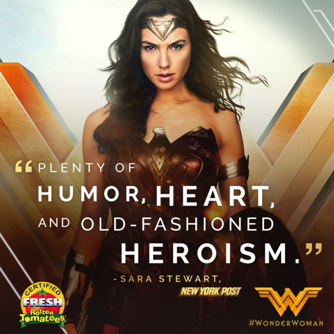 Wonder Woman Movie Poster 2017