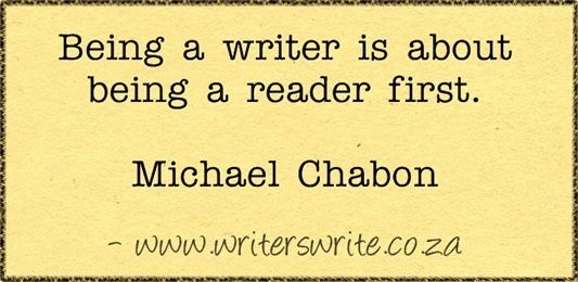 Quote: Michael Chabon on What it Means to be a Writer