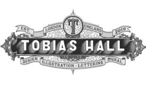 A complex logo for Tobias Hall