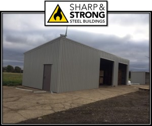 Steel Building for Northants Fire and Rescue Servicent came to Sharp and Strong requesting a steel framed building