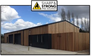 Greenkeepers Steel Framed Building