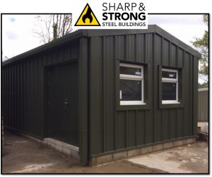 Insulated Office Steel Building