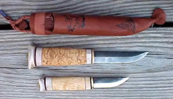 whittling knife handles