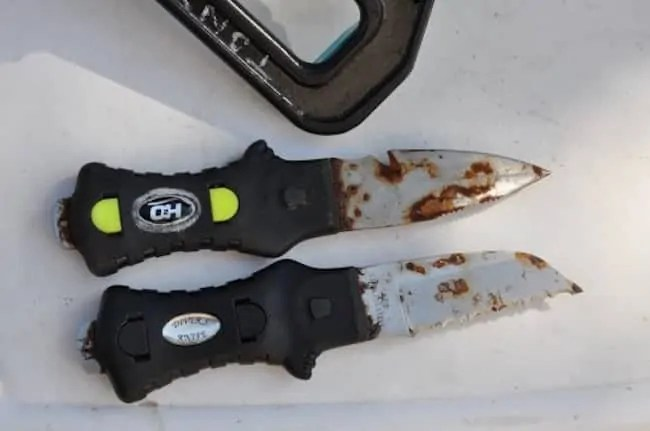How To Maintain A Dive Knife Cleaning Sharpening