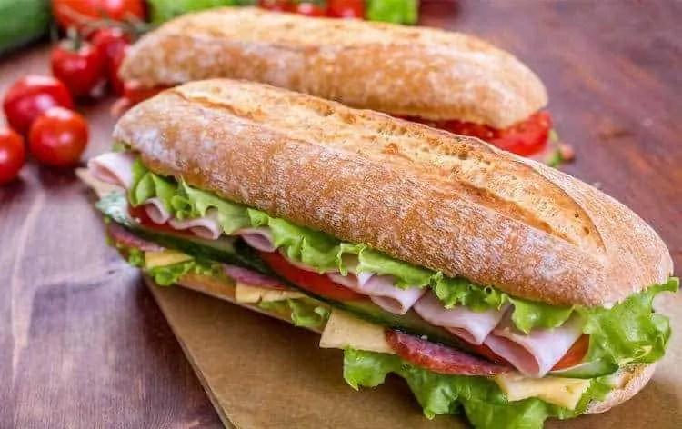 lovely deli sandwhich