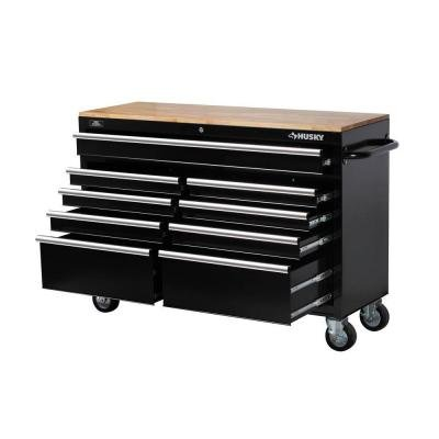 the husky 52 inch 9 drawer rolling tool chest from husky is our final top 5 entry