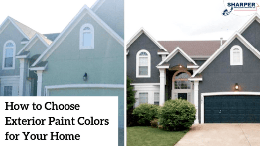 Exterior: How To Choose Paint Colors For House Exterior