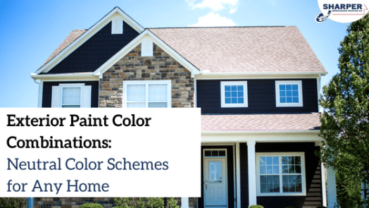 Exterior: Paint Color Combinations For Houses