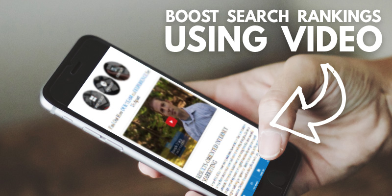 5 Ways A Video Can Boost Your Search Rankings - Header
