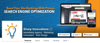 Sharp Innovations Facebook Header