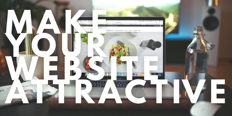 Make Your Website Attractive | Header