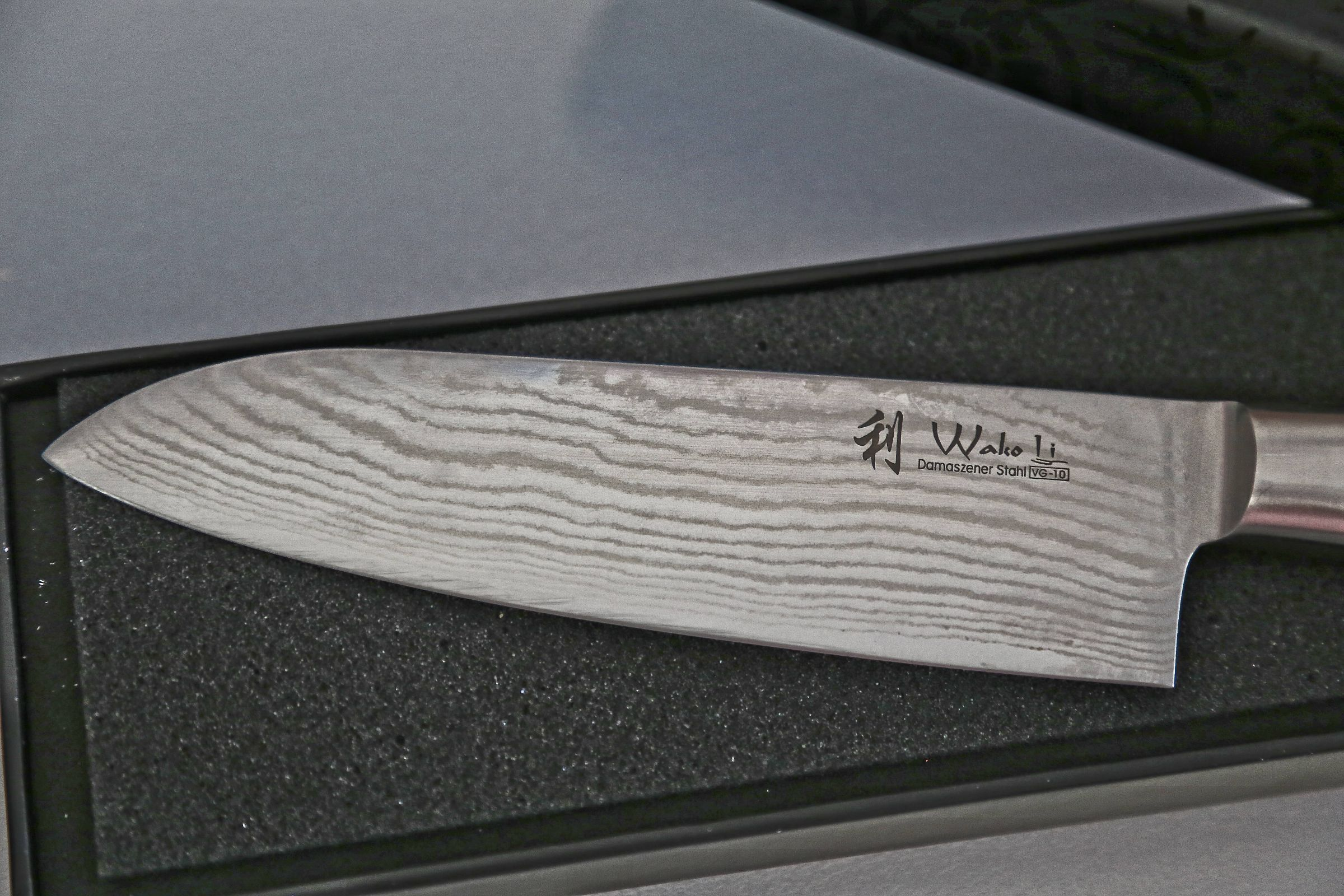 Wakoli 1DM SAN MIK Santoku Damascus Knife Japanese