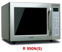 sharp r 990n 40 litre convection grill microwave oven