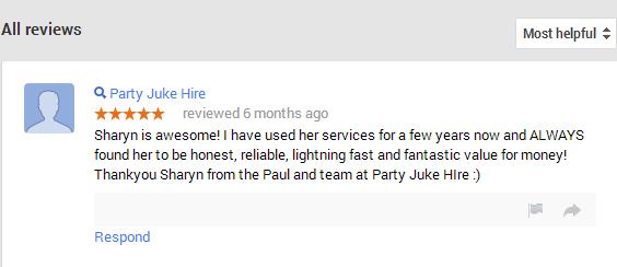 Party Juke Hire Testimonial