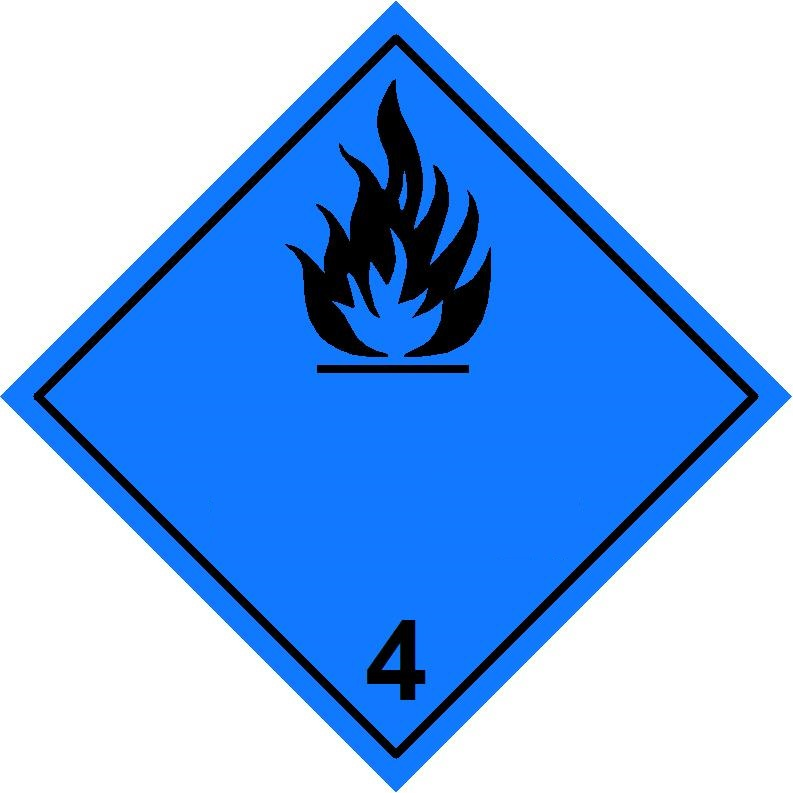 Class 43 Substances Which In Contact With Water Emit Flammable