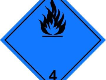 Class 4.3 Label
