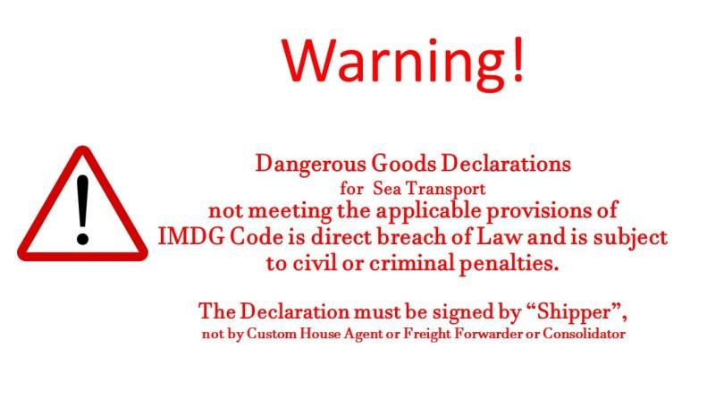 dangerous-goods-declarations