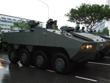 Rpresentative Image of Terrex Infantry Carrier Vehicle - Photo by Limkopi