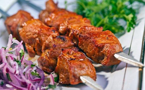 Шашлык из свинины - заказать онлайн, быстрая доставка в Киеве. Настоящий армянский шашлык с доставкой по Киеву