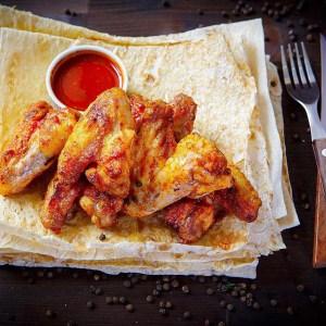 Куриные крылья на мангале