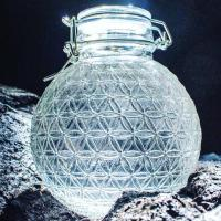1 Liter Flower of Life Water Bottle | Shasta Rainbow Angels| Shasta Rainbow Angels