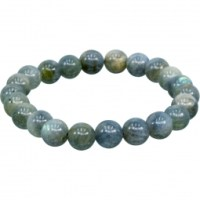 6-8mm Blue Labradorite Stretch Bracelet for EMF Protection | Shasta Rainbow Angels