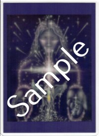 Awakening the Divine BA (ABA) Laminated 5x7 Art Print | Shasta Rainbow Angels