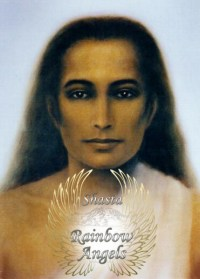 Babaji (BJ1) laminated 5x7 Art Print | Shasta Rainbow Angles