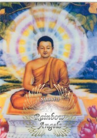 Buddha (BU2) - 5X7 Laminated Altar Card | Shasta Rainbow Angels