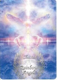Crown of Creation (COC) 5x7 Laminated Art Print | Shasta Rainbow Angels